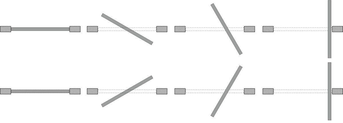 Рото-механизм, Врезка дверного